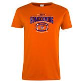 Ladies Orange T Shirt-2017 Homecoming