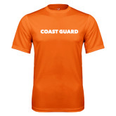 Performance Orange Tee-Coast Guard