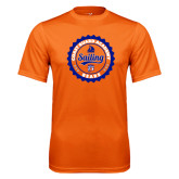 Performance Orange Tee-Sailing Seal with Claw