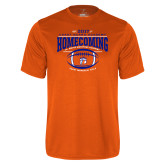 Performance Orange Tee-2017 Homecoming
