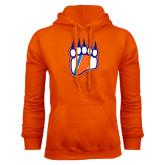 Orange Fleece Hoodie-Tertiary Logo