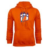 Orange Fleece Hoodie-Tertiary Logo