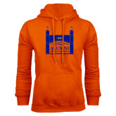 Orange Fleece Hoodie-Coast Guard Academy Alumni Association