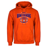 Orange Fleece Hoodie-2017 Homecoming