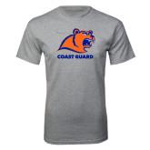 Grey T Shirt-Primary Logo