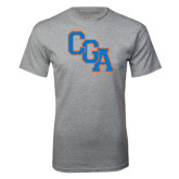 Grey T Shirt-Secondary Logo