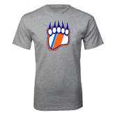 Grey T Shirt-Tertiary Logo