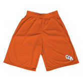 Performance Classic Orange 9 Inch Short-Secondary Logo