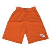 Performance Classic Orange 9 Inch Short-Secondary Logo