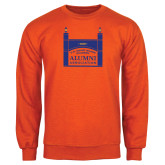 Orange Fleece Crew-Coast Guard Academy Alumni Association