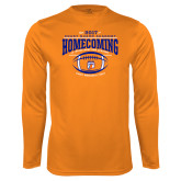 Syntrel Performance Orange Longsleeve Shirt-2017 Homecoming