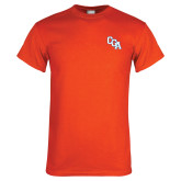 Orange T Shirt-Secondary Logo