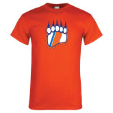 Orange T Shirt-Tertiary Logo