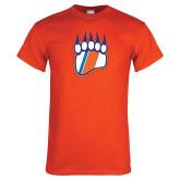 Orange T Shirt-Tertiary Logo