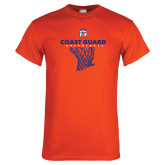 Orange T Shirt-Basketball Net with Claw