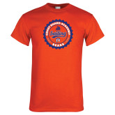Orange T Shirt-Sailing Seal with Claw