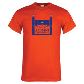 Orange T Shirt-Coast Guard Academy Alumni Association
