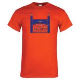 Orange T Shirt-Coast Guard Academy Alumni Association