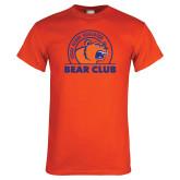 Orange T Shirt-Bear Club