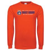 Orange Long Sleeve T Shirt-Coast Guard Academy