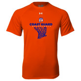 Under Armour Orange Tech Tee-Basketball Net with Claw
