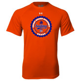 Under Armour Orange Tech Tee-Sailing Seal with Claw