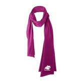 Bright Berry Cotton Blend Scarf-Primary Logo