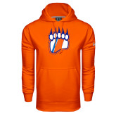 Under Armour Orange Performance Sweats Team Hoodie-Tertiary Logo