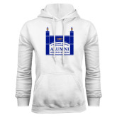 White Fleece Hoodie-Coast Guard Academy Alumni Association