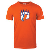Adidas Orange Logo T Shirt-Tertiary Logo