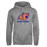 Russell DriPower Grey Fleece Hoodie-Primary Logo