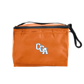 Six Pack Orange Cooler-Secondary Logo