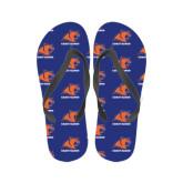 Ladies Full Color Flip Flops-Primary Logo