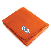 Orange Arctic Fleece Blanket-Secondary Mark