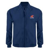 Navy Players Jacket-Primary Logo