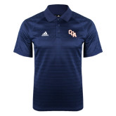 Adidas Climalite Navy Jaquard Select Polo-Secondary Mark