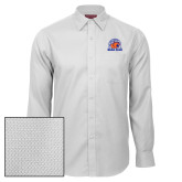 Red House White Diamond Dobby Long Sleeve Shirt-Bear Club