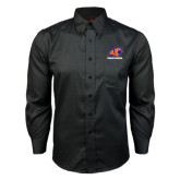 Red House Black Long Sleeve Shirt-Primary Logo