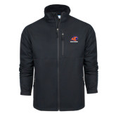 Columbia Ascender Softshell Black Jacket-Primary Logo