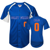 Replica Royal Adult Baseball Jersey-Personalized
