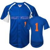 Replica Royal Adult Baseball Jersey-#1