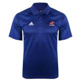 Adidas Climalite Royal Jaquard Select Polo-Primary Logo