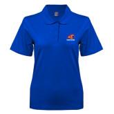 Ladies Easycare Royal Pique Polo-Primary Logo