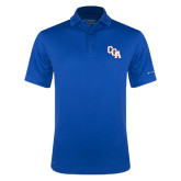 Columbia Royal Omni Wick Round One Polo-Secondary Mark