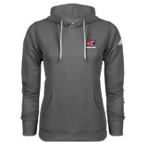 Adidas Climawarm Charcoal Team Issue Hoodie-Primary Logo