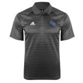 Adidas Climalite Charcoal Jaquard Select Polo-Secondary Mark