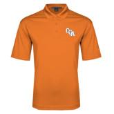 Orange Performance Fine Jacquard Polo-Secondary Mark
