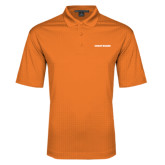 Orange Performance Fine Jacquard Polo-Coast Guard