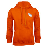 Orange Fleece Hoodie-Secondary Mark