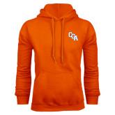 Orange Fleece Hoodie-Secondary Mark
